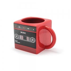 Taza de Céramica En forma de Radio Retro Vintage
