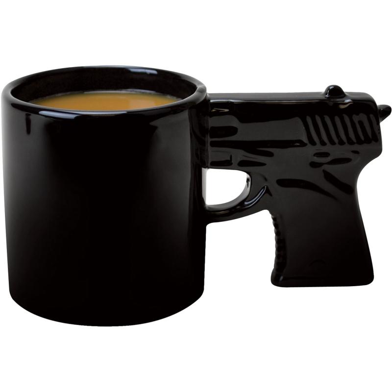 Taza de Cerámica Agarradera en forma de Pistola