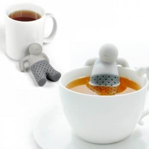 Infusor de Té Mr Tea Muñeco de Silicona