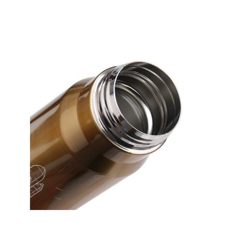 Termo en Forma de Bala con Botón Dosificador 350ml