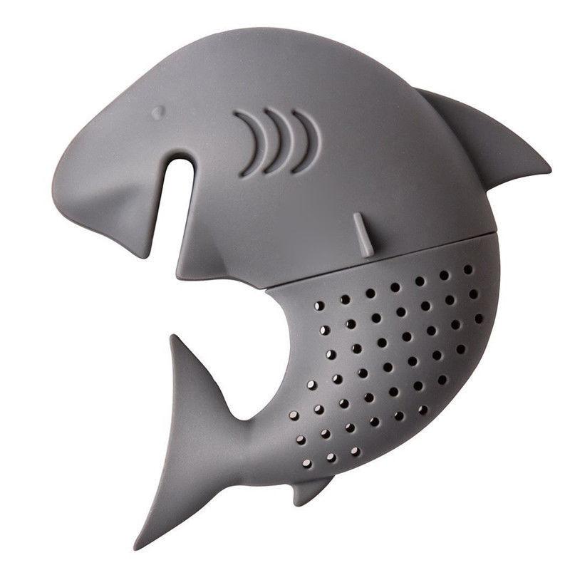 Infusor de Té Tiburón de Silicona